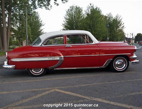 Bob Burrells 1954 Chevrolet Bel Air Quinte Car | bob burrells 1954 chevrolet bel air quinte car