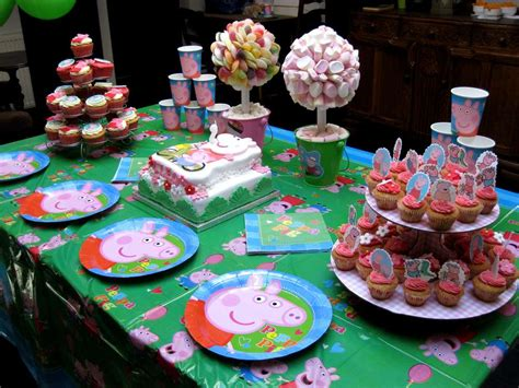 party ideas peppa pig birthday party ideas photo 1 of 9 catch my party