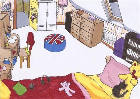 chambre en anglais ma chambre dessin 233 e par moi pour un devoir d anglais