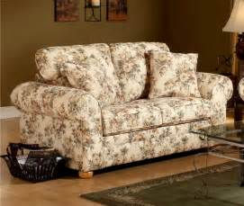 Floral Fabric Sofa floral pattern fabric traditional sofa loveseat set