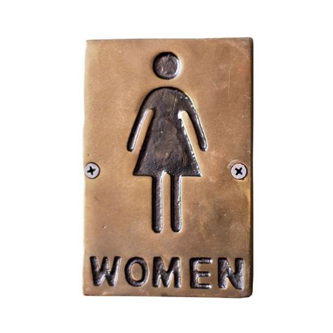 Only Bathroom Sign by Only Restroom Sign