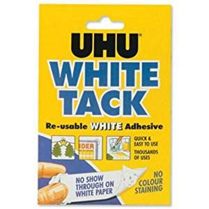 Handy Pantry Mastic by Uhu White Tack Mastic Adhesive Non Staining