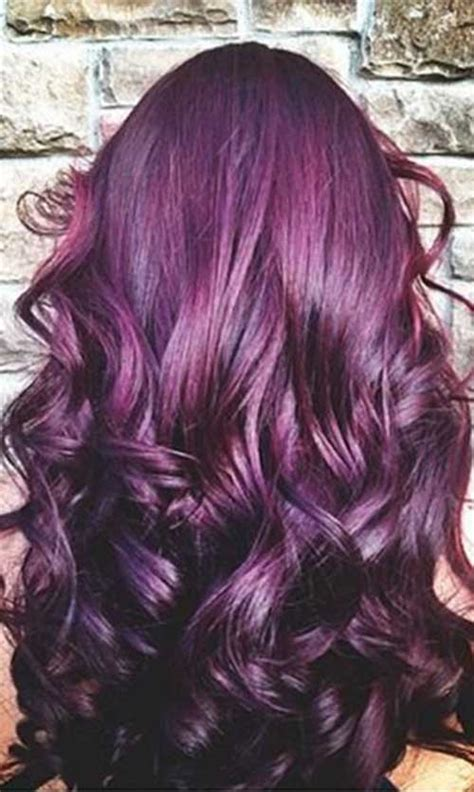 keune 5 23 haircolor use 10 for how long on hair 25 dark purple hair color long hairstyles 2016 2017