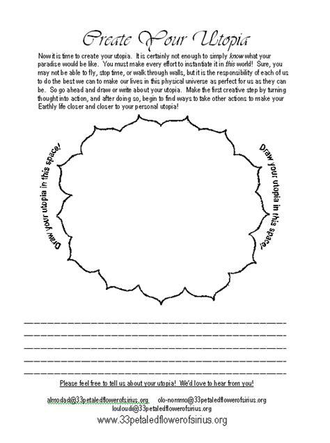 printable version creator printable pdf version create your own utopia worksheet