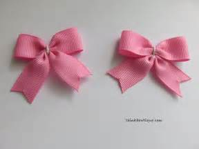 make a bow tie hair bow with tails think bowtique blog