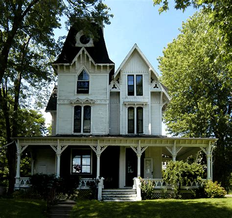 gothic victorian houses victorian villa gothic revival accents and queen anne