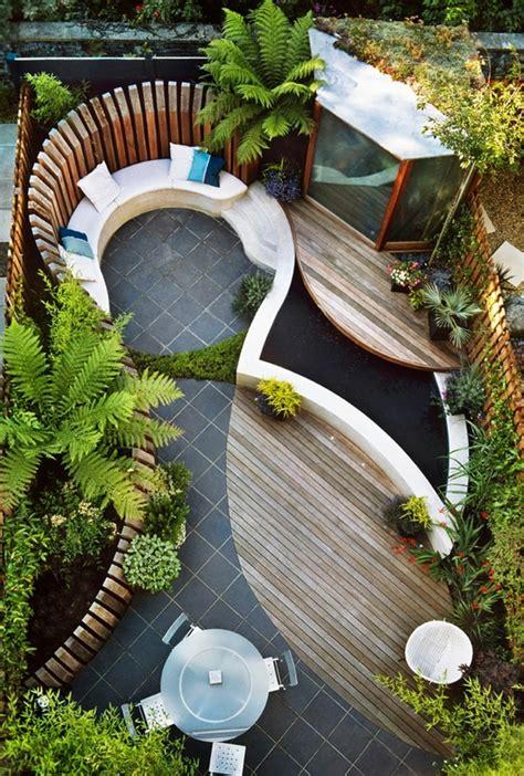 41 ideen f 252 r kleinen garten die gestaltung bei wenig platz - Gestaltung Kleiner Garten Ideen