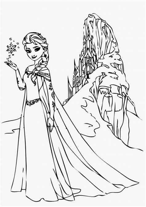 frozen coloring pages elsa online free printable elsa coloring pages for kids best