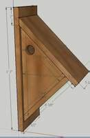 chickadee house plans free chick a dee house plans woodworking plans and information at woodworkersworkshop 174