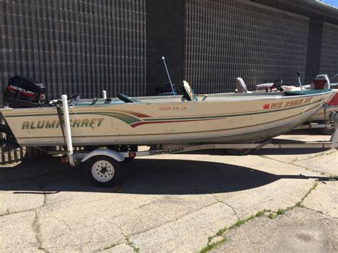 used alumacraft boats in wisconsin alumacraft lunker boats for sale in wisconsin