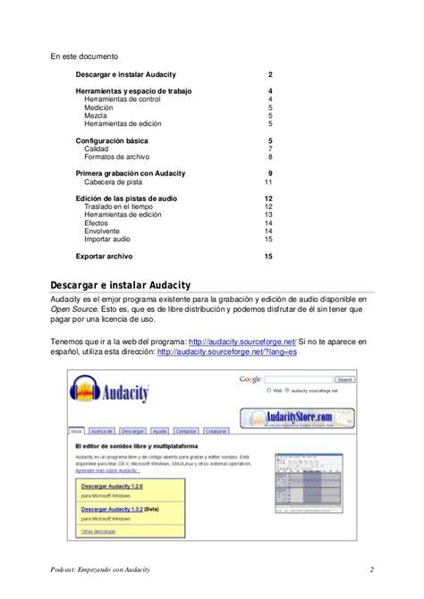 manual de layout en español descargar manual de audacity en espa 195 177 ol gratis putu merry
