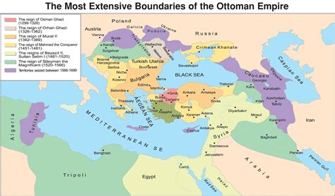 The Ottoman Empire 1299 1699 Full Size Where Is Ottoman Empire