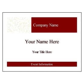 name badges templates microsoft word free avery 174 template for microsoft word name badge insert