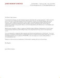 Sle Of General Cover Letter by 6 General Cover Letter Sles Invoice Template