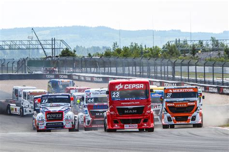 truck race european truck racing chionship federation