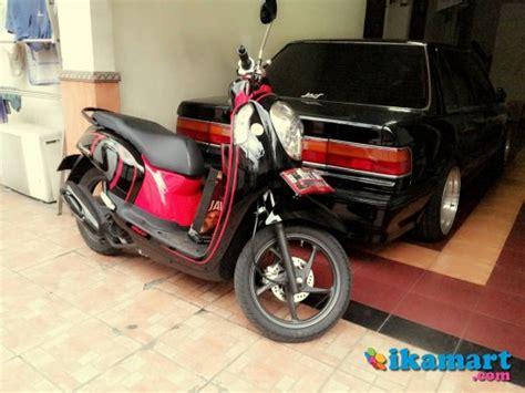 Scoopy Fi Merah jual honda scoopy fi 2013 merah hitam ex cewe motor