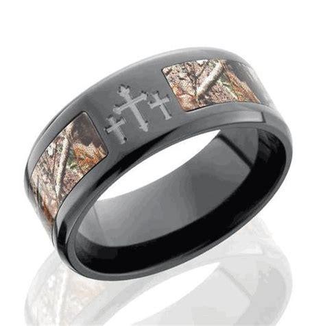 camo wedding rings ideas  pinterest mens camo