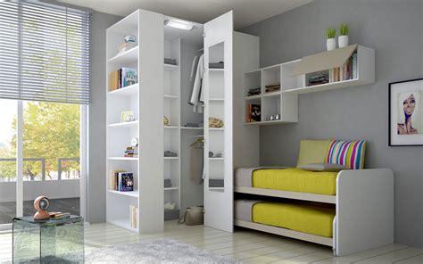 mobili per cameretta pareti attrezzate per camerette qv04 187 regardsdefemmes