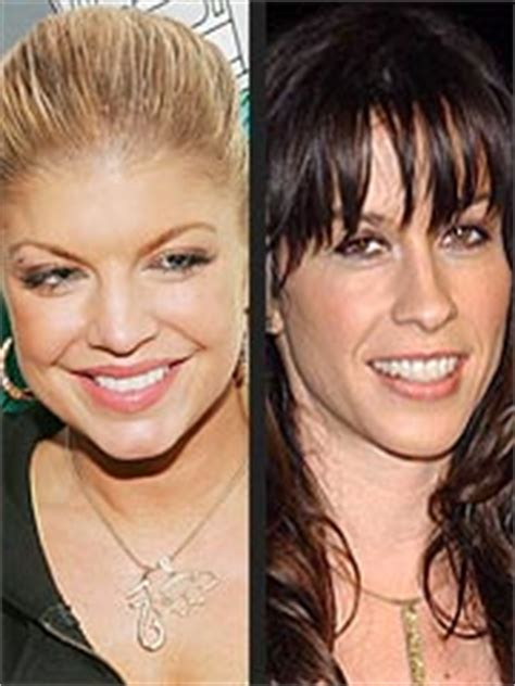Fergie Thanks Alanis With A Cake fergie sends alanis derriere cake for humps