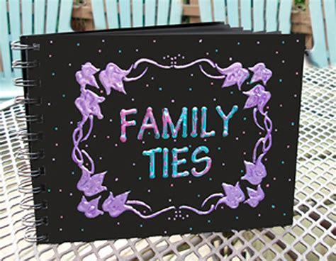 Handmade Albums - handmade albums family ties kool tak