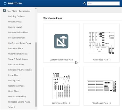 warehouse floor plan template warehouse layout design software free download