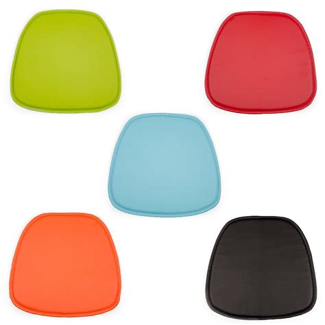 eames seat pad cushions for daw dar rar style chairs cult uk