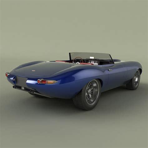 jaguar e type eagle speedster jaguar e type eagle speedster 3d model max obj 3ds