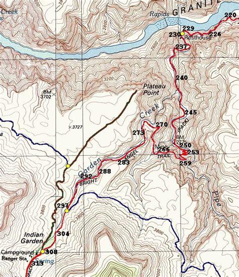 grand map trails grand hike