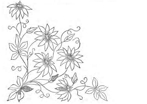 flower pattern embroidery design embroidery flower patterns patterns gallery