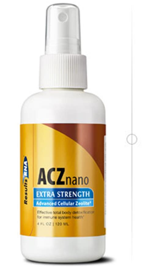 Rna Drops Detox Symptoms by Acz Nano Strength Advancement In Detoxification