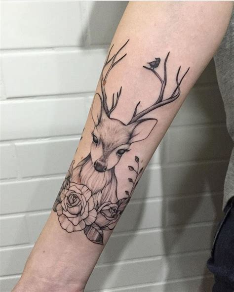 tattoo deer pinterest this is so beautiful tattoos body piercing pinterest