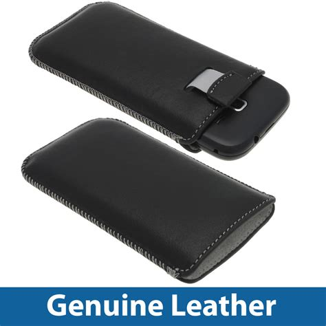 Casing Hp Samsung J1 Ace Black Custom Hardcase Cover black genuine leather pouch for samsung galaxy ace 2 i8160 android cover ebay