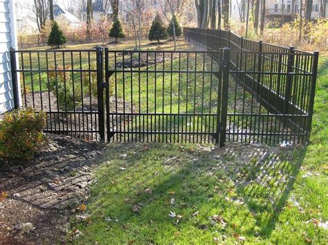 puppy fence panels best models of aluminum fencing for pets
