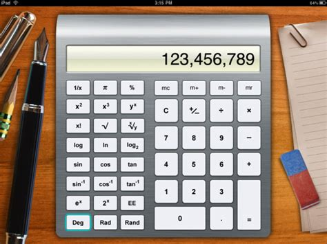 appshopper com number crunching calculator apps for ipad