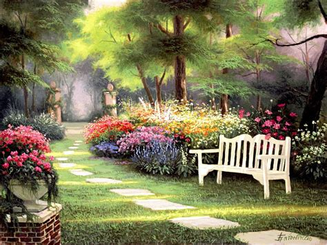 Flower Landscapes By Egidio Antonaccio Art Blog Markovart Flowers Gardens And Landscapes