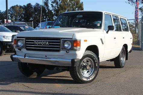 Vintage Toyota 4x4 For Sale 1985 Toyota Landcruiser 4x4 Classic Toyota Suv