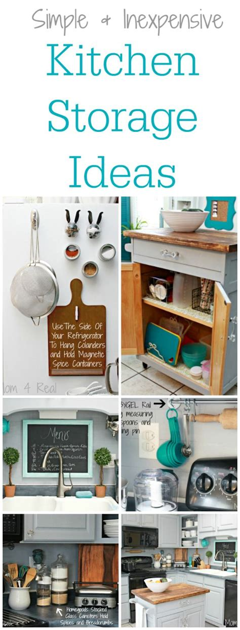 Kitchen Storage Ideas Cheap | simple and inexpensive kitchen storage ideas mom jars