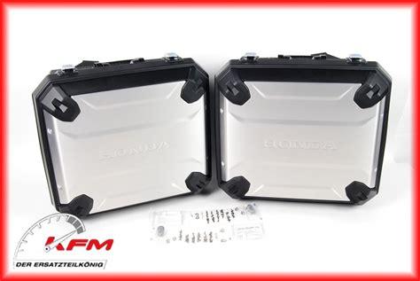 Honda Motorrad Original Teile by 08hme Mjp Pcom16 Honda Seitenkoffer Set Original Neu Kfm