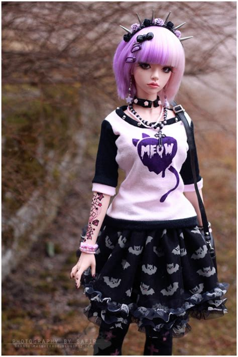 jointed doll oc pastel bjd