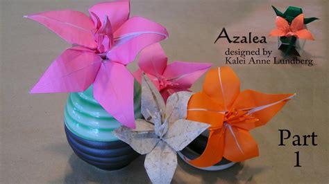 Origami Azalea - origami azalea part 1