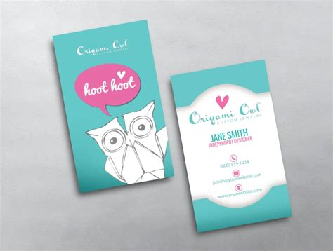 Origami Owl Business Cards - origami owl business card 14
