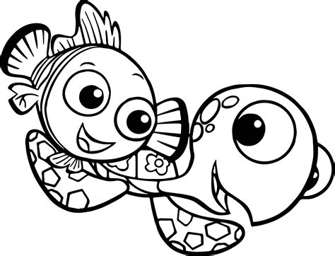 nemo squirt coloring pages disney finding nemo squirt coloring pages wecoloringpage