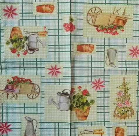 paper napkin decoupage ideas 2 different paper napkins for decoupage and paper crafts size