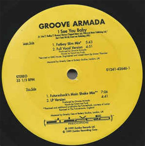 groove armada i see you baby groove armada i see you baby mixes from fatboy slim
