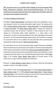 Invitation Letter To Redundancy Meeting Sle Staff Meeting Invitation Letter Disciplinary Letter Meeting For An Employee Sle