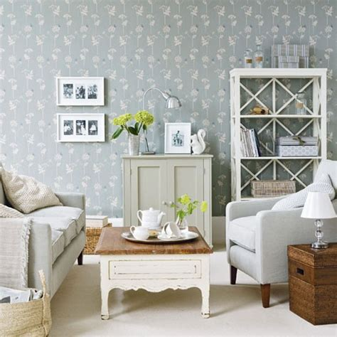 Country Living Room Wallpaper Coastal Inspired Living Room Housetohome Co Uk