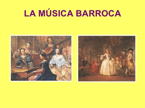 imagenes barroco musical musica barroca