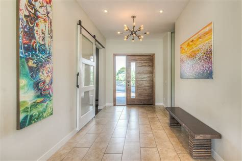 entryway ideas modern modern entryway with chandelier by green st communities