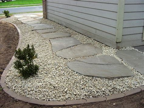 Cheap Garden Rocks 12 Attractive Garden Edging Ideas With River Stones That Provide Inspiration