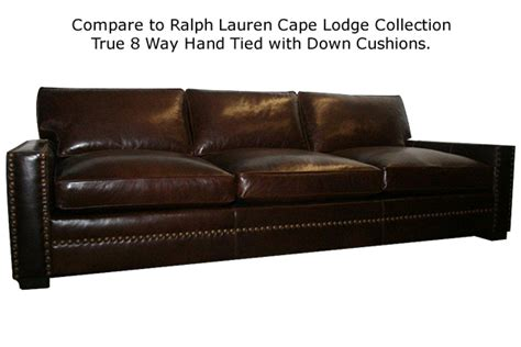 ralph cape lodge sofa cascobayfurniture com pages
